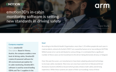Arm Case Study: Emotion3D's In-Cabin Monitoring Software Sets New Driving Safety Standards